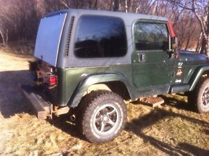 Parting out 1998 jeep TJ