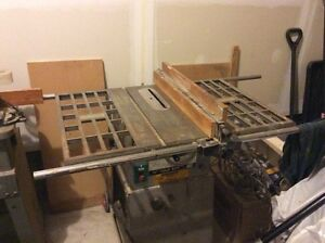 """10"""" bench saw busy Bee model: TSC-10 and accessories Gatineau Ottawa / Gatineau Area image 1"""
