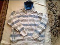 Mens hoodies full zipper size XXL prices: £2