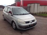 24/7 Trade sales NI Trade Prices for the public 2004 Renault Scenic 1.9 DCI Dynamique full mot
