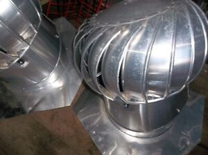 3 turbine vents in excellent condition