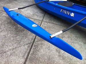 Single OUTRIGGER AND FITTING KIT for Canoe, K1 and TK1 kayaks Melbourne CBD Melbourne City Preview