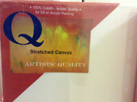 Artists' Stretched Canvas Blank Panels