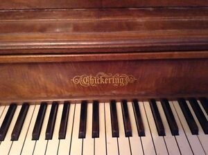 Chickering apartment sized piano