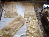 Indian ladies 3 dresses and scarf brand new £10