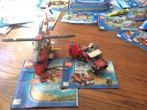 LEGO City - Fire Helicopter and Truck - 7206