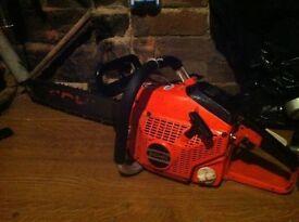 "Echo professional chainsaw cs4600 17"" bar .. Only £95 !"