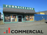 Heating Retailer with Building For Sale