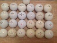 25 MAXFLI GOLF BALLS