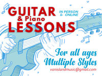 Guitar & Piano Lessons by a Professional Jazz Musician/Educator