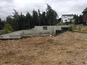 Oversize lot with foundations for house and garage St. John's Newfoundland image 6