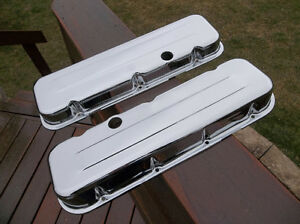 Chrome Chev big block valve covers ......... brand new