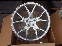 """BRAND NEW 19"""" veeman alloy wheels AUDI VW"""