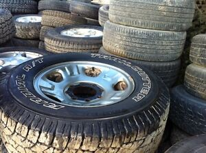 Lt275/70R18 set of 4 all season came off 07 f-250