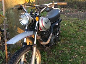 Vintage Honda 250  xl