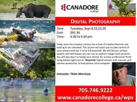 Canadore College - Digital Photography - Part 1
