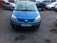£1,295 | Renault Scenic 1.6 VVT Maxim 5dr