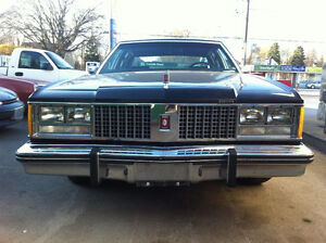 1979 Oldsmobile Ninety-Eight Triple black Sedan