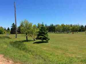 Beautiful building lot with water view and beach access.