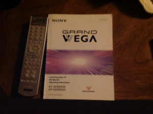 50 inch Sony Grand Vega LCD Projection TV.