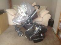 Graco Evo Avant travel system pushchair & car seat