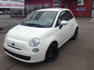 2013 Fiat 500 Lounge Coupe (2 door)