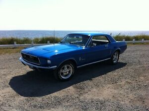 Mustang coupe 1968 c-code