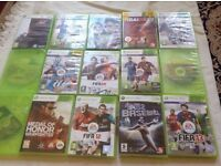 Xbox 360 games 12 games used £8