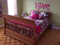 Douillette couvre lit ensemble chambre enfant fille