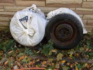 Arctic Claw 485/70R14 Winter Tires on Chrysler rims $250 OBO Kingston Kingston Area image 3