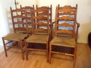 6 chairs set