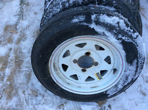 Trailer tires and rims Edmonton Edmonton Area image 4
