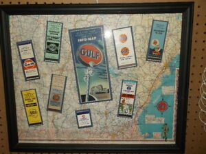 gulf gas station frame collection