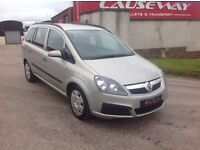 24/7 Trade sales NI Trade prices for the public 2006 Vauxhall Zafira 1.6 Life 7 Seater