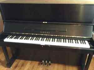 Yamaha Piano U1 in Satin Ebony
