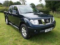 07 07 Nissan Navara 2.5dCi Sport Only 68,000 Miles By Two Owners With Bluetooth