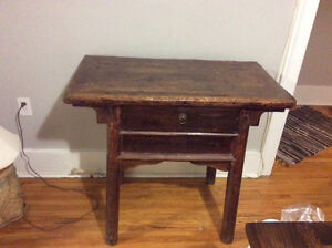 Rustic table over 100 years old