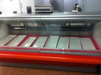 Hussmann. Meat or deli  cold display