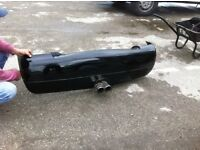 Vw lupo sport rear bumper and power flow exhaust