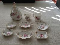 Royal Crown Derby Posies giftware. 9 items