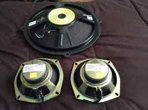Bose speakers and sub