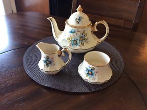 Various Teapot and Cream & Sugar Sets