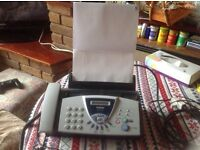 Brother Fax T-104 USED Good working Pick up only £25