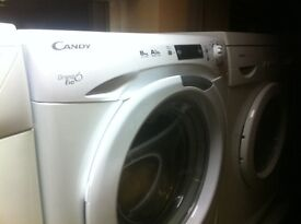 8KG CANDY WASHER COMES WITH A STORE WARRANTY WHITE CANDY WASHER FULLY TESTED AND CHECKED