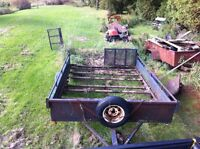 Utility trailer 8x10(needs a lot of love)