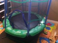 5-6 foot trampoline for your little one