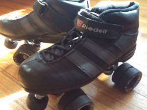 Riedell 701 Torq Quad Speed Skates, Excellent Condition!