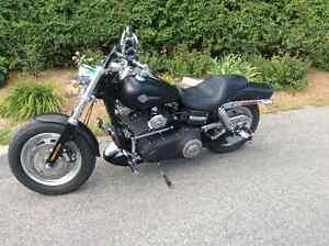 Moto Harley Davidson Fat Bob 2010