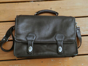 Black Leather Bag Kingston Kingston Area image 3