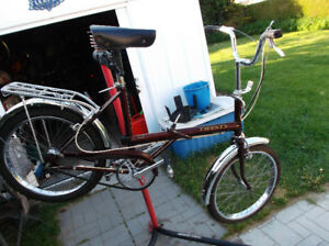 Raleigh 20  Vintage 70s 3 speed Fold Up Bike